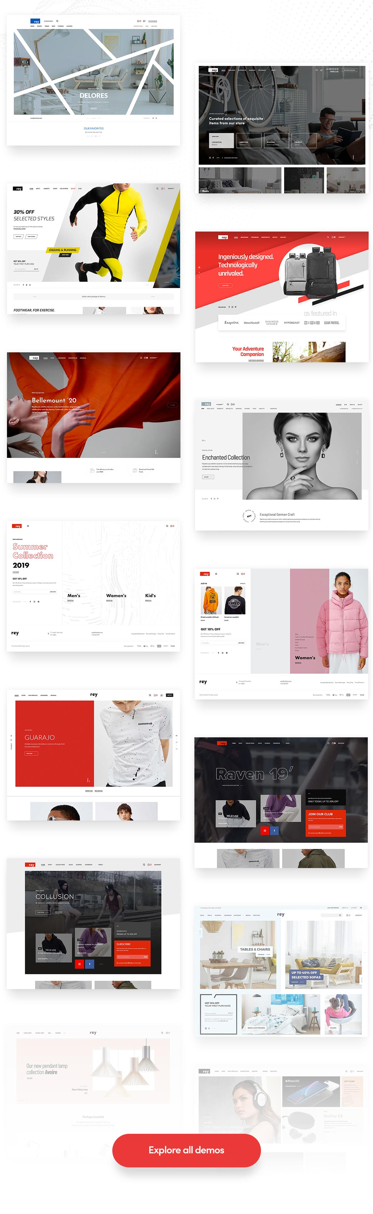 Rey - Multi-purpose & WooCommerce Theme - 4