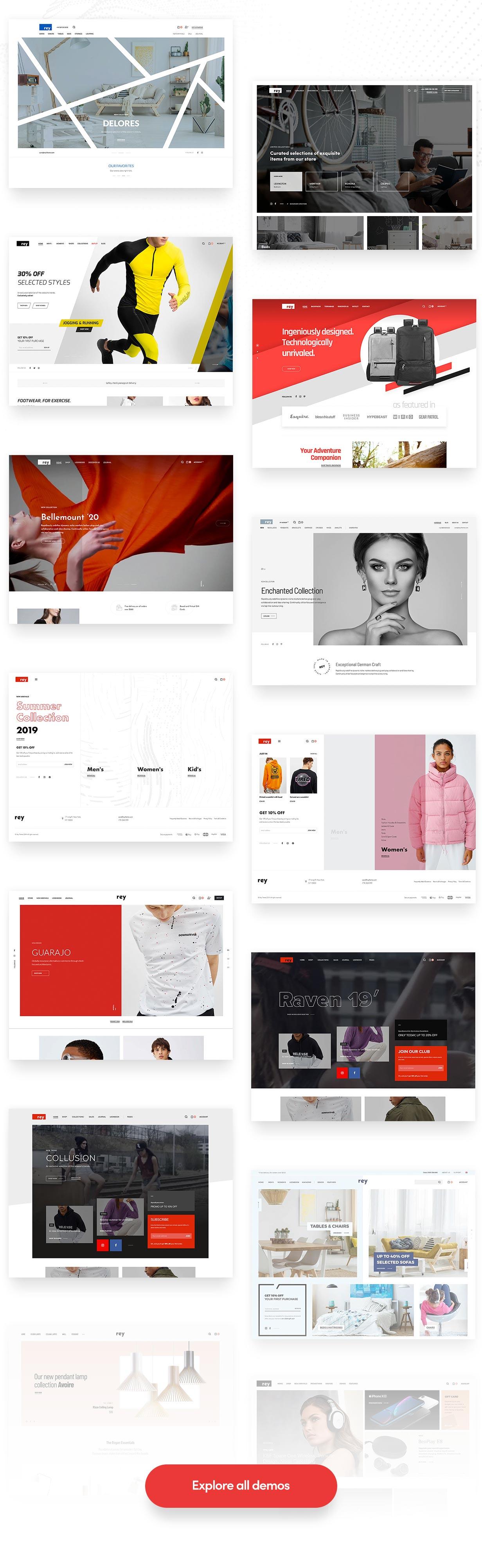 Rey - Multi-purpose & WooCommerce Theme - 4