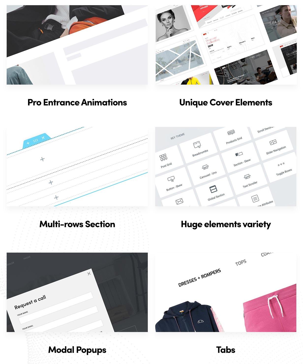 Rey - Multi-purpose & WooCommerce Theme - 8