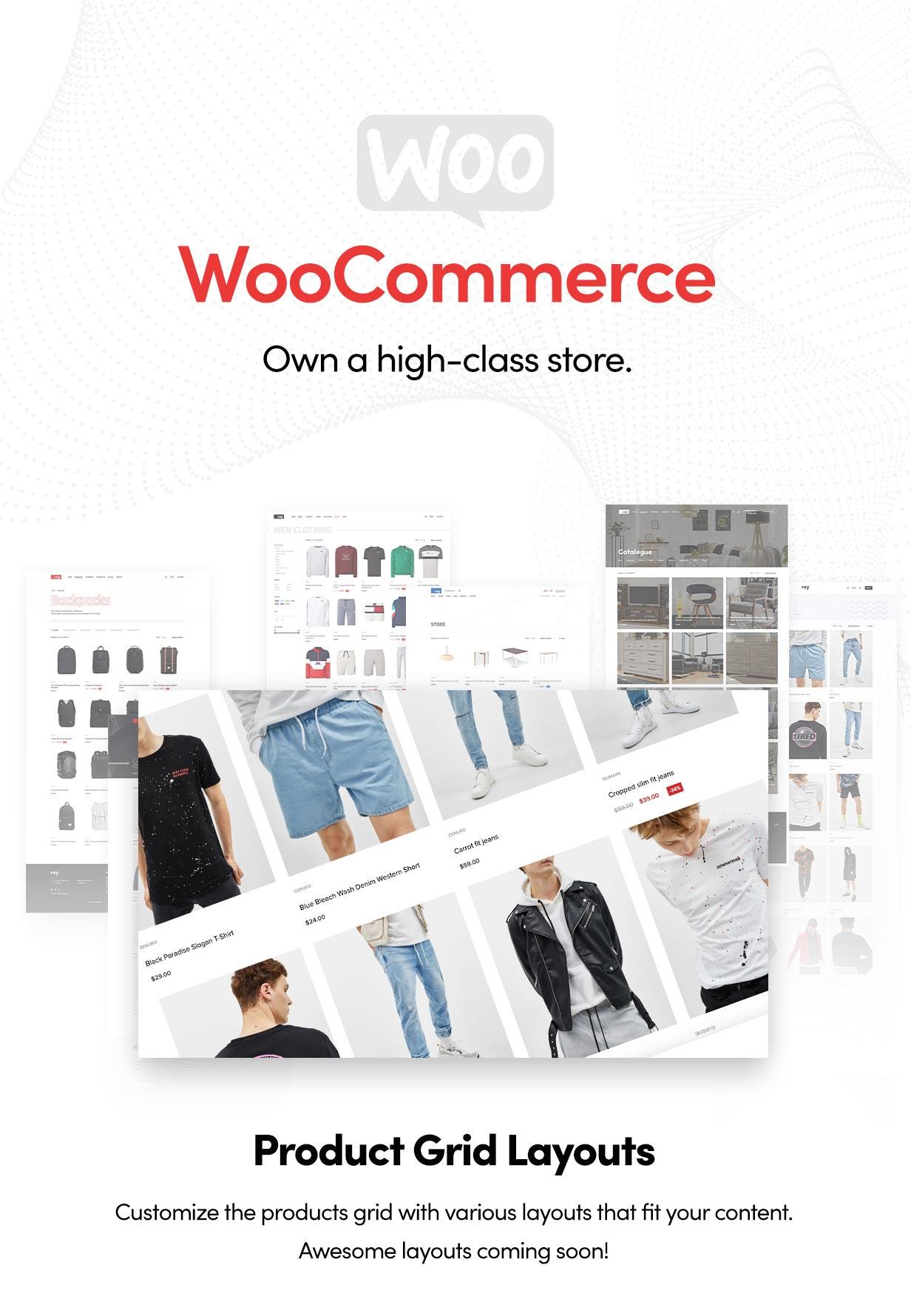 Rey - Multi-purpose & WooCommerce Theme - 9